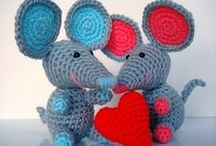 amigurumi - Mouse
