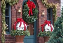 DIY OUTDOOR DECO FOR THE HOILDAYS / by donna brock