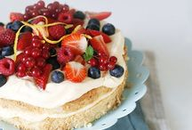 Cakes / Sweet and delicious
