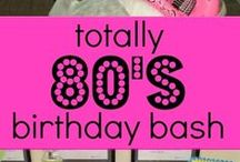 80s and 90s Birthday Party
