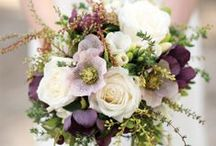 Bouquets / and flowers inside them