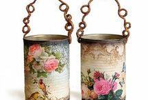 Praktikus tárgyak ,dekorációk