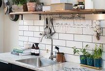 Pretty kitchens | Mooie keukens / Inspiratie voor de decoratie of inrichting van je keuken.
