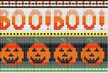 Halloween / Trick or Treat..handknits and crochet are all treats.