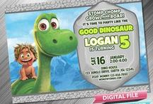 The Good Dinosaur Invitation & Printable Party Idea