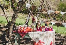 I DO / Ideas for the dreamier of weddings. Outdoor, boho chic.