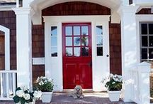 Red Front Doors / Make a statement.