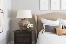Bedrooms / We're talking bedroom paint colors. Your bedroom is your personal space, so make it a place you love being!