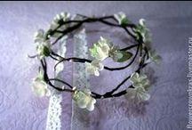Украшения для волос /  Свадебные аксессуары, диадемы, обручи инста: flowercrownkras