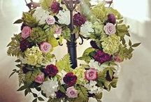 Wreaths/Door Enhancements by MGF / Missy Gunnels' Flowers wreaths are perfect for all occassions including weddings, events and even home decor.