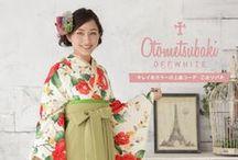 卒業袴 / http://mhc-s.jp レトロモダンがかわいい卒業袴。全国往復送料無料でオンラインレンタル可能です。