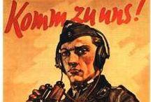 POSTERS TERCER REICH Y 2DA GUERRA / Posters relacionados con la Segunda Guerra y el Tercer Reich