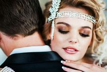 Gatsby Glamour / Wedding theme inspired by The Great Gatsby. Mixture of glamourous and vintage. #1920