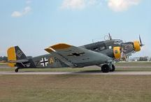 AVIACION DEL TERCER REICH / Aeronaves de la Luftwaffe y otras que tuvieron participación durante el Tercer Reich