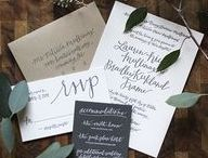 Invitation Styling Inspiration