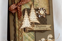 Cards with collages / by Carol Feige
