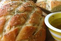 Recipes: The bread also rises / Savoury bread and biscuit recipes / by Panagiota Koutsoulis