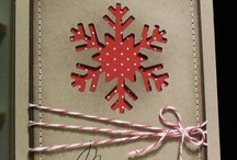 Cards: winter, snowflakes & snow / by Carol Feige