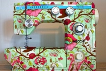 Sew on and Sew forth... / Fabric, thread, and the machines who love them! / by Patti Muma