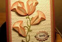 cards with origami/folded elements / by Carol Feige