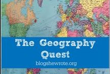 Geography Quests / Geography projects & assignments with WonderMaps