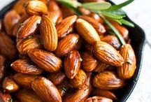 Recipes: Aw, nuts! / Nut recipes and mixes / by Panagiota Koutsoulis