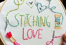 Stitch Happens / Not your Great Auntie's embroidery! Ok. Maybe some of it is... / by Patti Muma