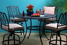Spring Patio 2016 - Outdoor Color & Comfort / Shop year-round and enjoy our beautiful in-stock selection of quality outdoor furniture. Choose by the collection  or one piece at a time.