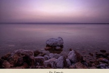 Dead Sea  / Dead Sea known as the largest Natural spa in the world . Millions of people worldwide visit the dead sea for its magical waters ,salt and Mud / by VIVAcity Dead-Sea
