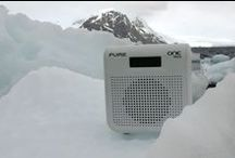 Guess where we've travelled to? / We want a picture of a Pure radio in every continent!! Guess which Continents we've started with.....
