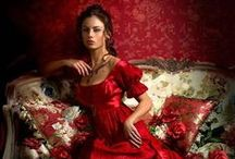 RED ROUGE / by Vint Brun Hannay
