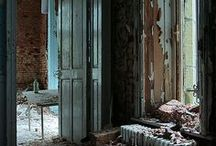 ABANDONED  DECAY Urban exploration / The beauty of decay... Take a prozac and come in ! / by Vint Brun Hannay