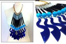 statement jewelry by MALIYA / ACCESSORIES