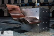 Street Furniture Benches / While designing our benches we are considering every little thing - model utility, materials, economics, dimensions, shape, appearance and style...