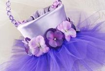 Flower Girl Basket & Dress