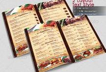 Flyer & menus