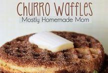 Waffles & Pancakes & Crepes