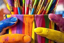 (A.G)Art of colour / the colourful world of art.