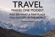 Travel Quotes / Travel Quotes that inspire you to travel and experience this beautiful world!