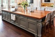 Beautiful Kitchens / Inspirational ideas for beautiful kitchens #mannafromdevon #inspirationalcooking