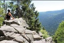 Le sentier des Roches, une des plus belles randos dans les Vosges / On dirait un petit bout d'Alpes dans les Vosges ! Le sentier des roches, très escarpé et sauvage, soumet nos articulations à rudes épreuves, mais nous offre un panorama inoubliable. Après le cirque de Frankenthal, l'ascension jusqu'au Hohneck est tout aussi belle et éreintante. Prêt pour l'aventure ?