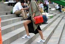 Street Style / Ejemplos de moda en las calles, inspiración, tendencias, festivales