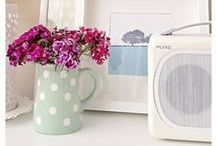 Home Inspiration / Our gorgeous radios will be right at home in these beautiful interiors!