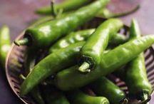 Potager - Les piments / Les piment du plus doux au plus piquant, attention les papilles