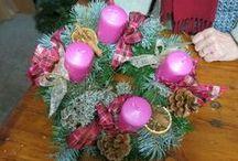 DIY : une couronne de l'Avent en 5 étapes / La couronne de l'Avent, c'est un peu une institution en Alsace. Le principe ? Les 4 derniers dimanches de l'Avent, une bougie est allumée jusqu'à Noël.