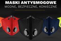 Maski antysmogowe / Maski przeciwpyłowe / Maski sportowe / Maski antysmogowe, maski sportowe, maski przeciwpyłowe