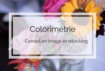 Colorimétrie - Conseil en image et relooking / cercle chromatique, harmonies des couleurs, association des couleurs