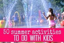 Summer & Outdoor Activities / Fun outside play for kids, active play and outdoor activities / by Michelle @ Be the Fun Mom!