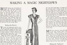 patterns & tutorials 1930's