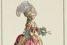 "1780-1789 fashion plates / for women's fashion, the plates for men are in the board titled ""1780-1789 men's fashion""!"